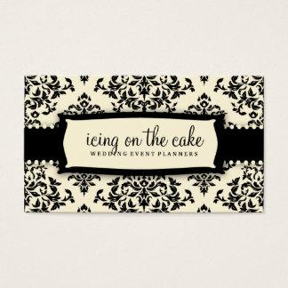 311 Icing on the Cake Liquorice Cream Business Card