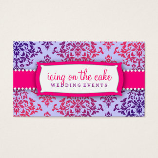 311 Icing on the Cake Pink Lavender 2 Business Card