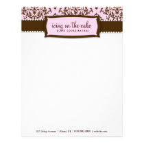 311 Icing on the Cake Pink Liquorice Letterhead