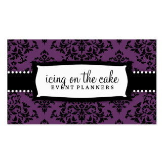 311-Icing on the Cake Purple Business Card