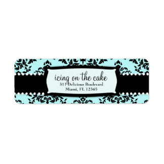311 Icing on the Cake Something Blue Address Label