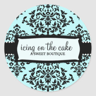 311 Icing on the Cake Something Blue Classic Round Sticker