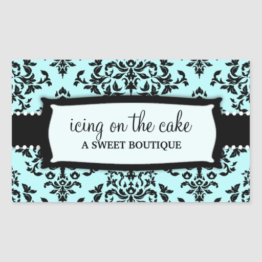 311 Icing on the Cake Something Blue Rectangular Sticker