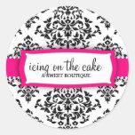 311 Icing on the Cake Strawberry Classic Round Sticker