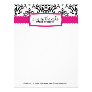 311 Icing on the Cake Strawberry Letterhead