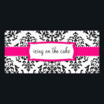 """311 Icing on the Cake Strawberry Rack Card<br><div class=""""desc"""">Design by Jill McAmis,  copyright 2011.</div>"""