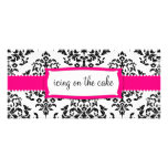311 Icing on the Cake Strawberry Rack Card Design