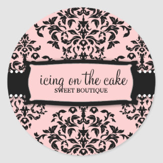 311 Icing on the Cake Sweet Icing Classic Round Sticker