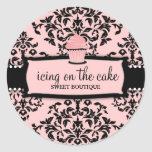 311 Icing on the Cake Sweet Icing Pink Cupcake Sticker