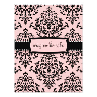"""311-Icing on the Cake Sweet Pink 8.5"""" X 11"""" Flyer"""