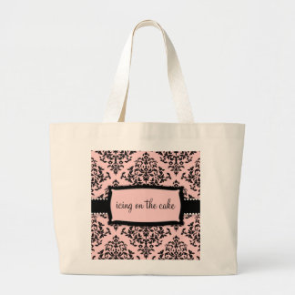 311-Icing on the Cake - Sweet Pink Large Tote Bag