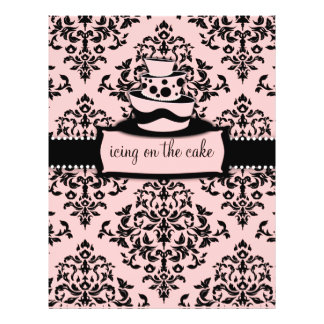 """311-Icing on the Cake Sweet Pink Topsy Turvy 8.5"""" X 11"""" Flyer"""