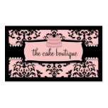311 Icing on the Cake Tier Sweet Icing Pink Double-Sided Standard Business Cards (Pack Of 100)