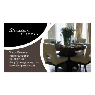 311 Interior Design Staging Modern Business Card