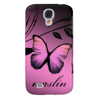 311 iPhone 3 Lustrous Butterfly Pink Pout Samsung S4 Case