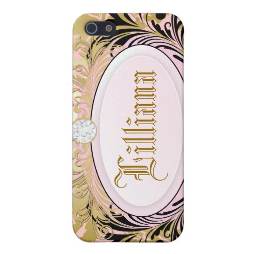 311 iPhone 4 Opulent Gold Pink Covers For iPhone 5