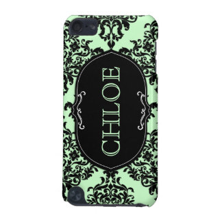 311 iPod Touch Mint Green Lux Damask iPod Touch (5th Generation) Cover