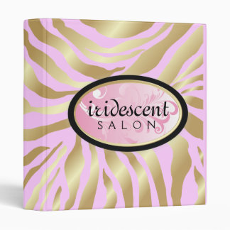 """311-Iridescent cebra de oro - rosa del caramelo Carpeta 1"""""""