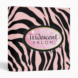 "311-Iridescent cebra - rosa en rosa Carpeta 1"""