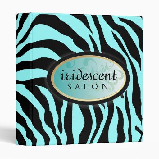 """311-Iridescent cebra - turquesa Carpeta 1"""""""