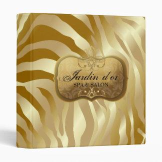 311-Jardin d or Golden Zebra Binder