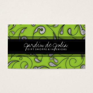 311 Jardin de Julia Lime Business Card