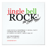 311 Jingle Bell Rock the Night Away 5.25x5.25 Square Paper Invitation Card