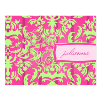 311 Julianna Lusciously Lime Postcard