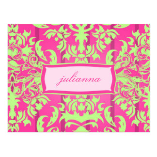 311 Julianna Lusciously Lime Post Cards