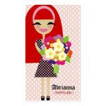 311 KILA FLOWER & BUTTERFLY INTERCHANGEABLE HAIR BUSINESS CARDS
