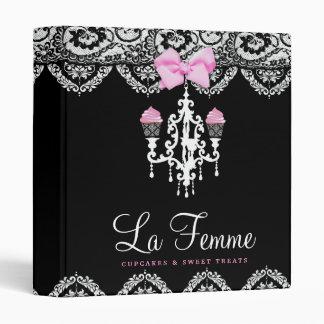 311 La Femme Cakes Black 3 Ring Binder