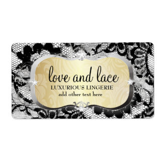 311 Lace de Luxe Buttercream Platter Label