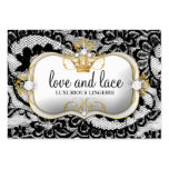 311-Lace de Luxe - Ciao Bella Business Card Template
