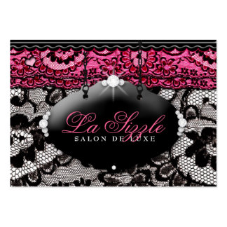 311 Lace de Luxe Pink Appointment Card Large Business Card