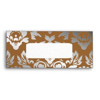 311 Ladonna Damask Bronze Envelopes