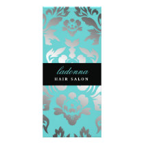 311 Ladonna Damask Topaz Rack Card