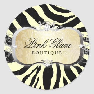 311 Lavish Buttercream Platter Zebra Stickers