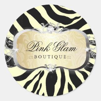 311 Lavish Buttercream Platter Zebra Stickers