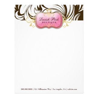 311 Lavish Pink Brown - Letterhead