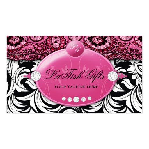 311-Lavish Pink Delish with Fashionista Business Cards