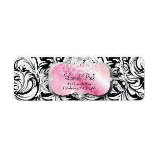 311 Lavish Pink Platter Label