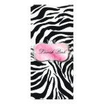 311 Lavish Pink Platter Zebra Price List Rack Cards