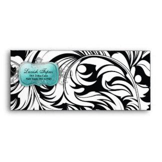 311-Lavish Topaz Envelope | Black A10