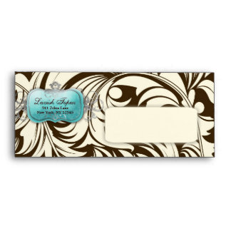 311 Lavish Topaz Envelope | Brown A10