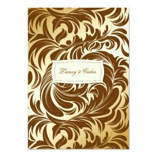 311-Lavishly Lainey Golden Brown Invitation