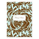 311-Lavishly Lainey Mint Chocolate Invitation