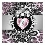 311-Leopard-Tique Queen of Hearts Sweet 16 Card