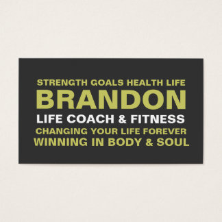 311 Life Coach Trainer Etc Business Card