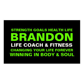 311 Life Coach / Trainer / Etc. Business Card