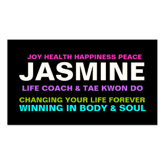 311 Life Coach Trainer Etc. Business Card